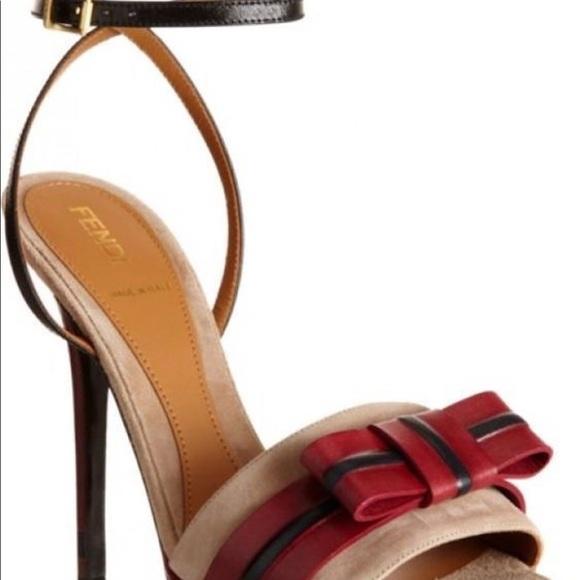 dbde7cfed20 Fendi gorgeous strappy heels